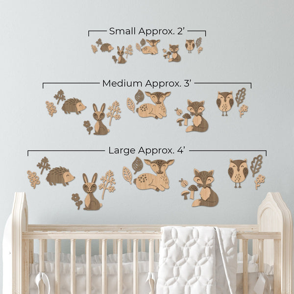 Woodland Animals Wall Decor