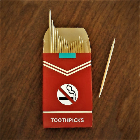 flavored toothpicks for tobacco cessation