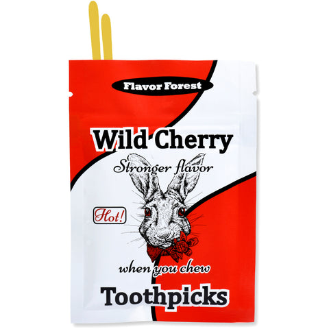 cherry cinnamon toothpicks 100ct