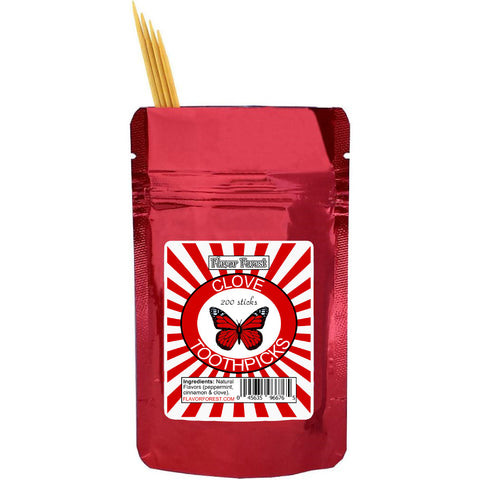 clove toothpicks 200ct