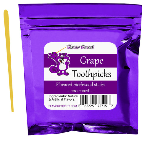 grape toothpicks 100ct