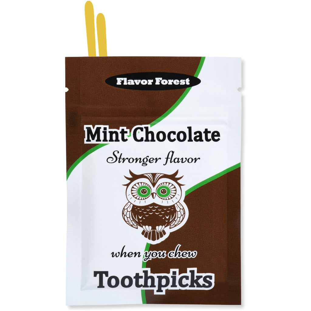 mint chocolate toothpicks 100ct