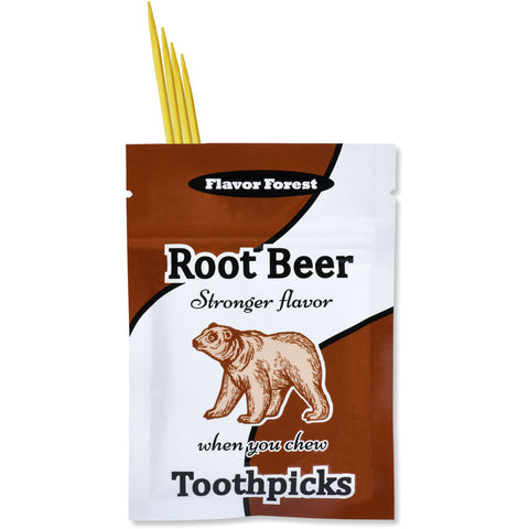 root beer flavored toothpicks 100ct