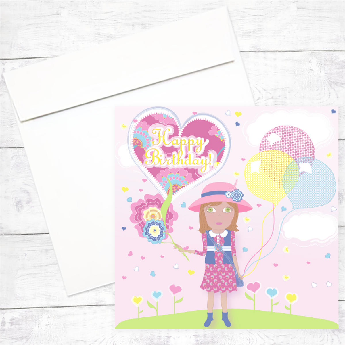 Florsita Greeting Card: Happy Birthday