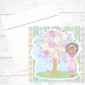 Zahara Greeting Card: Love Meaages