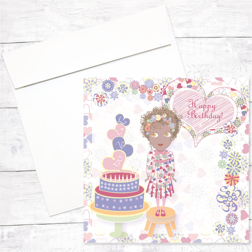 Zahara Greeting Card: Happy Birthday