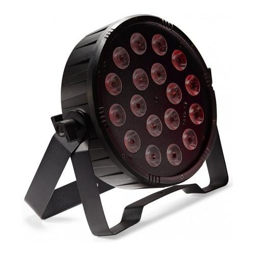 Stagg Flat Ecopar 18 Spotlight With 18 x 1W RGB (3 In 1) LED | SLI-ECOPAR18-3