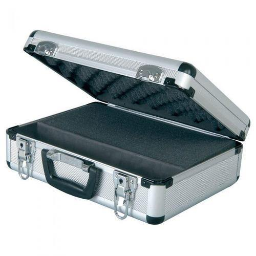 Chord Microphone Aluminium Flight Case With Customisable Foam - DY Pro Audio