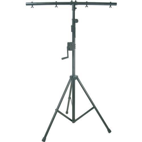 QTX Heavy Duty Lighting Stand with Winch & T-bar - DY Pro Audio