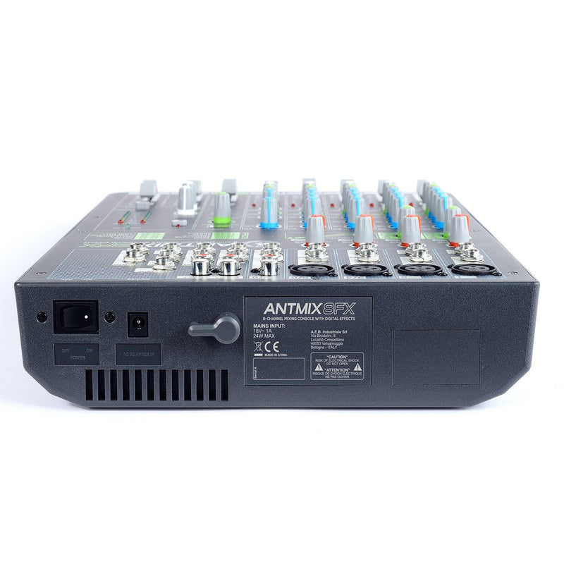 ANT - Antmix 8FX 8 Channel Mixer - DY Pro Audio