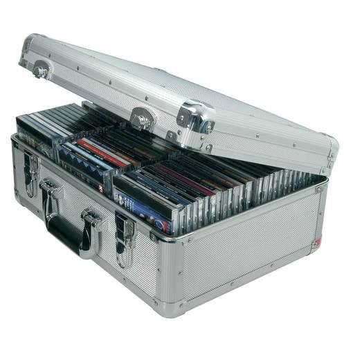 Citronic CDA:80 Aluminium CD Flight Case (Holds 80 CDs) - DY Pro Audio