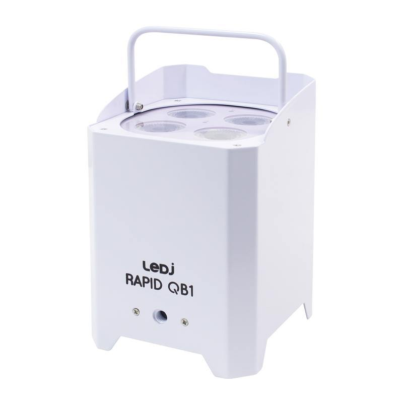 LEDJ Rapid QB1 HEX IP (White Housing) - DY Pro Audio