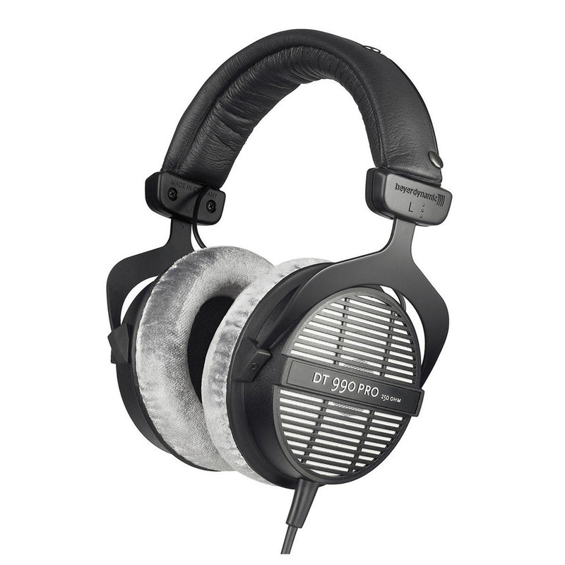 Beyerdynamic DT 990 Pro 250 Ohm Open Back Studio Headphones for Mixing Mastering - DY Pro Audio