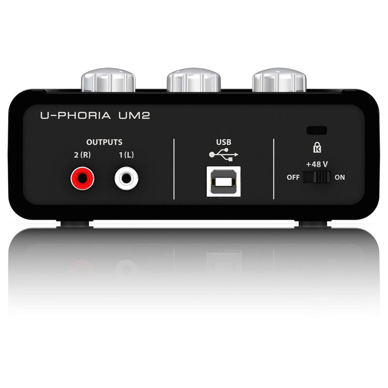 Behringer UM2 U-Phoria Audiophile 2x2 USB Audio Interface
