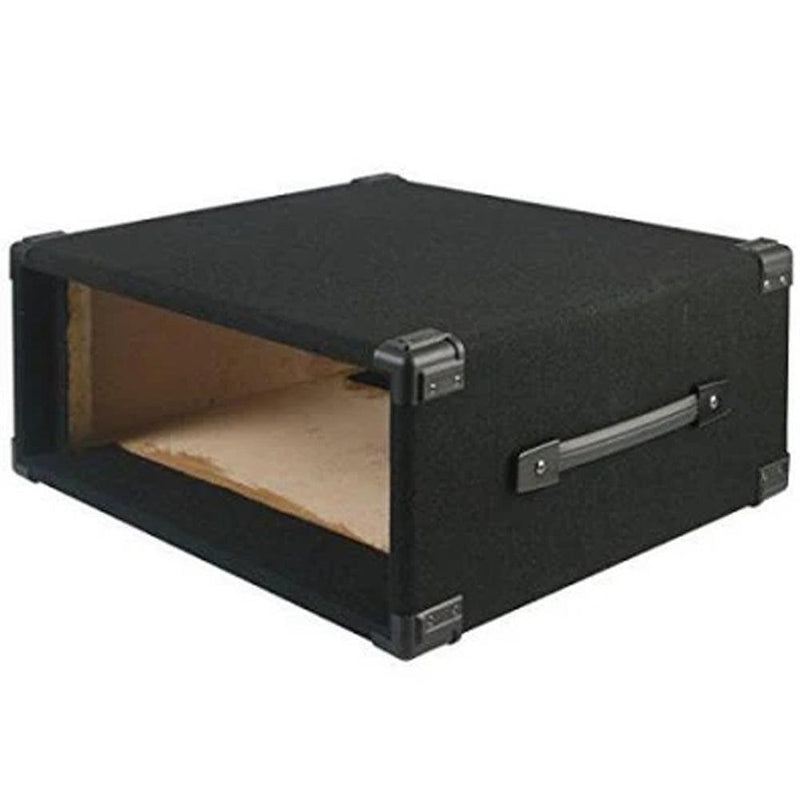 "Pulse 4U Carpet Covered Wooden 19"" Rack Sleeve Case"