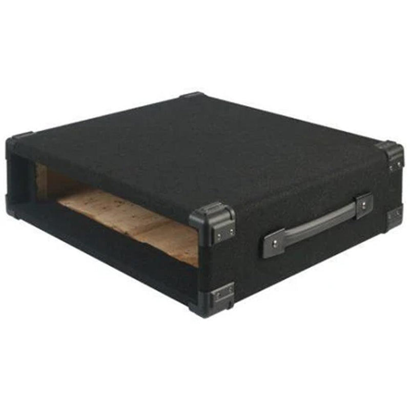 "Pulse 2U Carpet Covered Wooden 19"" Rack Sleeve Case"