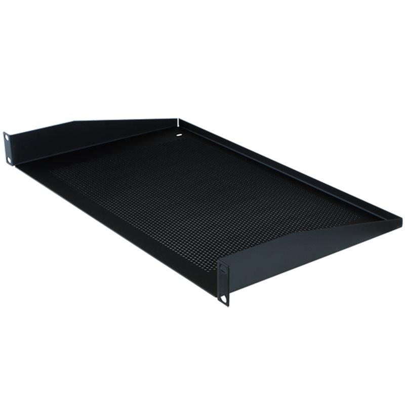 "Penn Elcom 1U Rack Shelf Vented 272mm/10.71"" - DY Pro Audio"