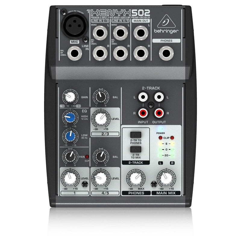Behringer 502 XENYX Small Format Mixer - DY Pro Audio