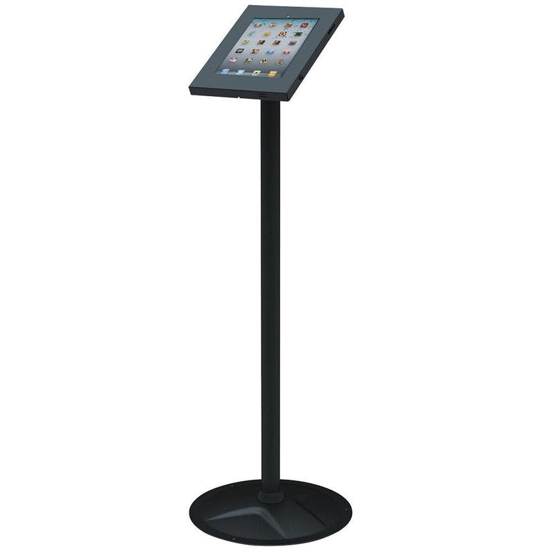 Theft Resistant iPad 2 3 4 & Air Secure Floor Stand Lockable Exhibition Mount