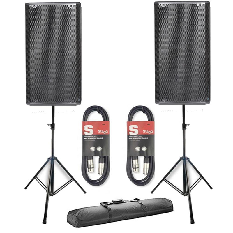 "2 x db Technologies Opera 10 Active 10"" DJ Disco Live Stage PA Speaker Package - DY Pro Audio"