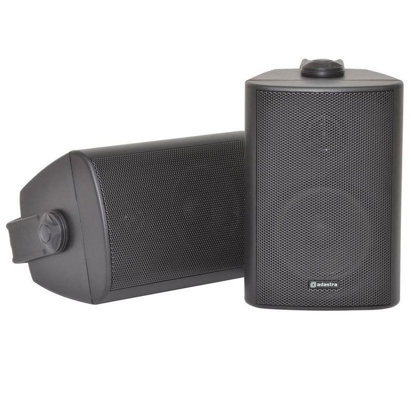 Adastra Outdoor Stereo Speakers Weather Resistant Pair Wall Mounted Loudspeakers New - DY Pro Audio