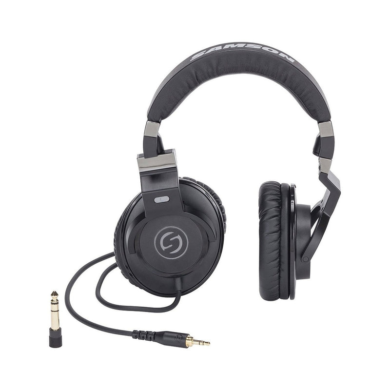 Samson Z35 Closed Back Studio Headphones - DY Pro Audio