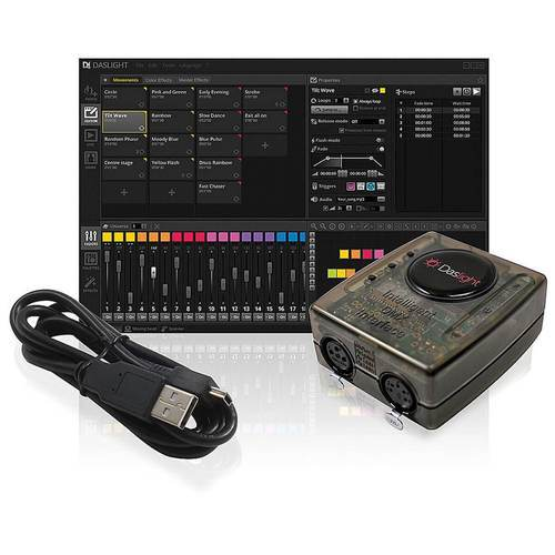 Daslight DVC4 Gold DMX Software - DY Pro Audio