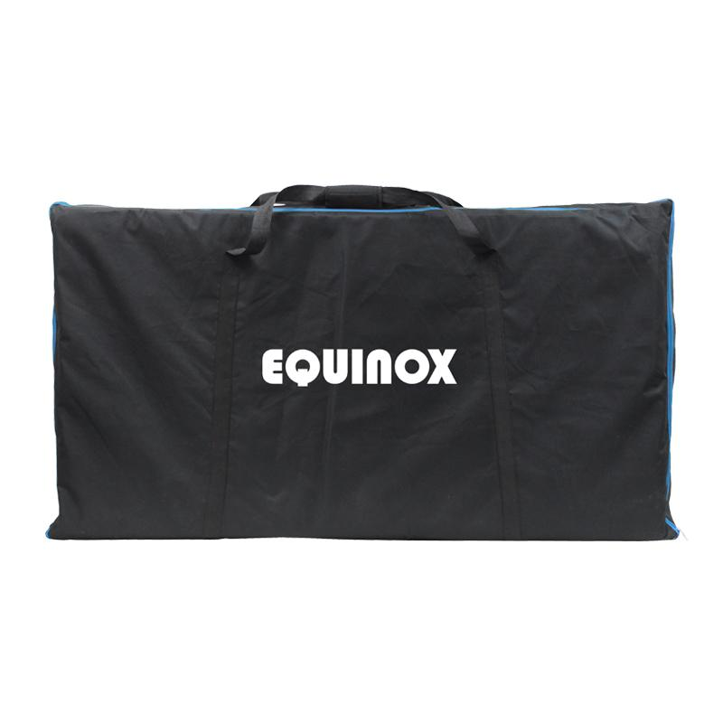 Equinox Foldable DJ Screen White Includes Bag - DY Pro Audio