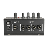 QTX LM41 Mini Line Level Mixer