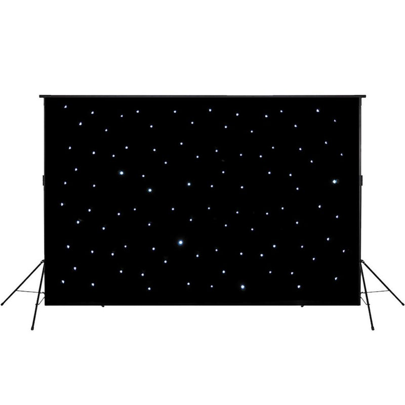 LEDJ 3 x 2M LED Star Cloth Stand and Bag Set - DY Pro Audio