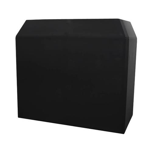 Equinox DJ Booth Replacement Lycra Black - DY Pro Audio
