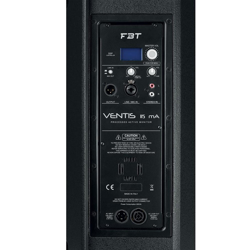 FBT Ventis 115MA Active Stage Monitor - DY Pro Audio