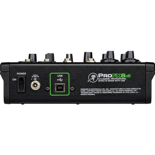 Mackie PRO FX6 v3 6-Channel USB Mixer - DY Pro Audio