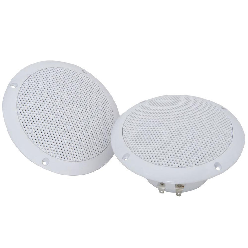 2x 8ohms Waterproof Marine Speakers 5 Inch Adastra 80w Wall Ceiling Boat Loudspeaker - DY Pro Audio