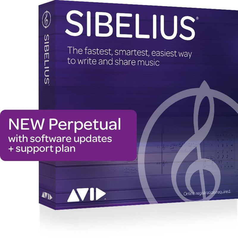 Sibelius (Perpetual, Boxed) Software Software (Physical Product) - DY Pro Audio