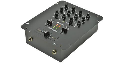 Citronic PRO-2 MKII 2-Channel DJ Mixer - DY Pro Audio