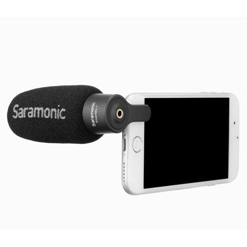 Saramonic SmartMic+ Compact Directional Microphone for iPhone & iPad - DY Pro Audio