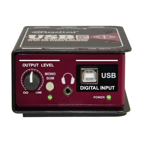 Radial USB PRO Stereo DI for USB Source - DY Pro Audio