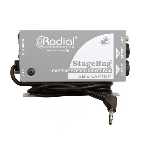 Radial StageBug SB-5 Passive Laptop DI Box - DY Pro Audio