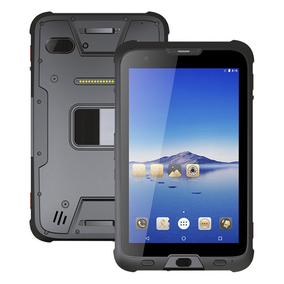 UNIWA T1 MIL-STD-810G Rugged IP67 Waterproof 8'' Octa Core 4GB 64GB 7500mAh 2.4GHz/5GHz Dual Wi-Fi NFC Android 7.0 POE Tablet PC