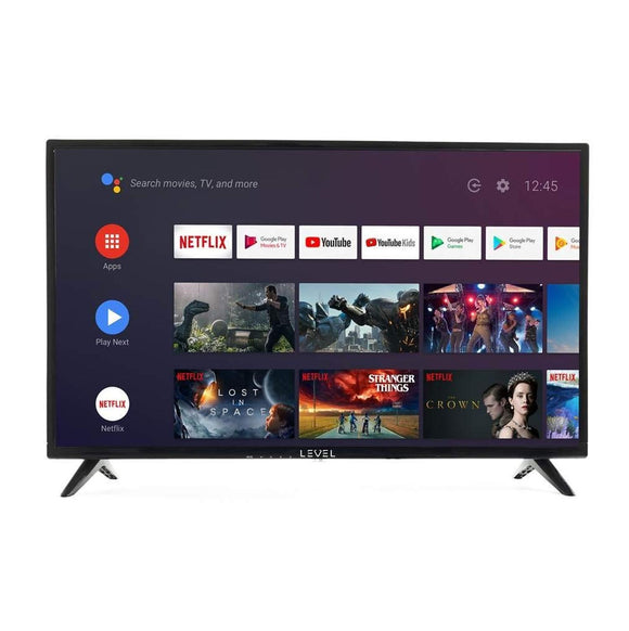 LEVEL HDA9032 Android 9.0 TV 32inch HD Google TV Voice Control 32
