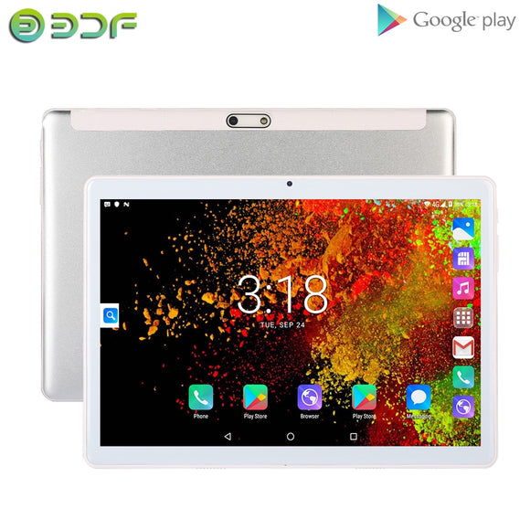 10 Inch Tablets Pc Android 7.0 Tablet Quad Core 1G RAM 32G ROM Tablets 1280*800 IPS LCD Dual SIM Card 3G Tablet Pc