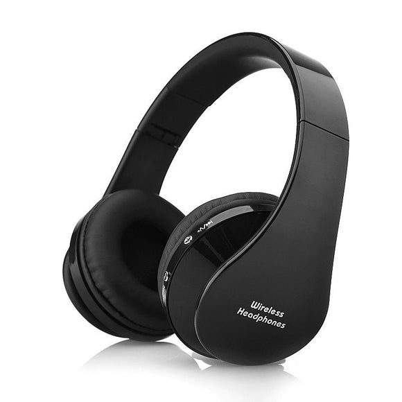 Wireless Bluetooth Headset Stereo Headphone For Android Stereo HIFI Sound Foldable Adjustable AUX Wired Headphones Handsfree MIC