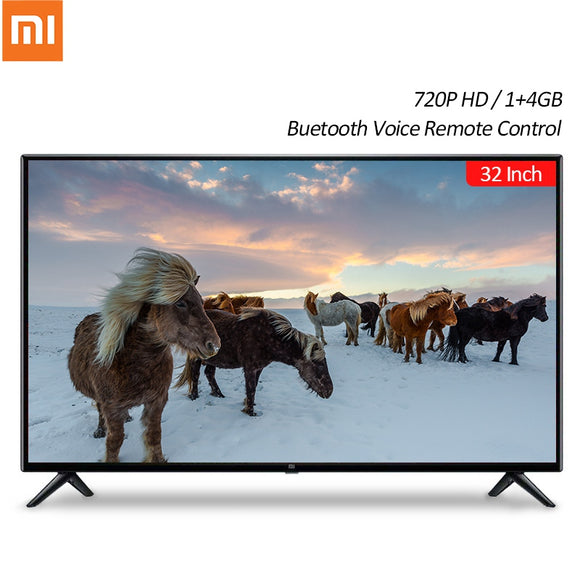 Xiaomi TV Mi Smart TV 4S 32 Inch 720P HD Android 1+4GB Smart TV Television Chinese Version bluetooth Voice Remote Control