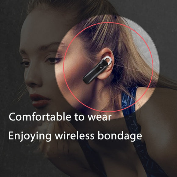 M165 TWS Bluetooth Earphone 4.1 Wireless In-ear music Headphones business headset sports earbuds suitable For all smart phones