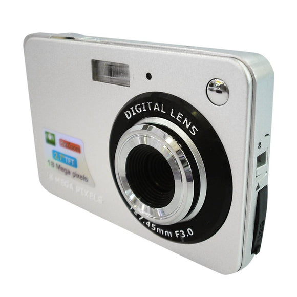 DC530 HD 720P 18MP Digital Video Camera Camcorder with 8X Digital Zoom Anti-shake 5MP CMOS Sensor 2.7'' TFT LCD