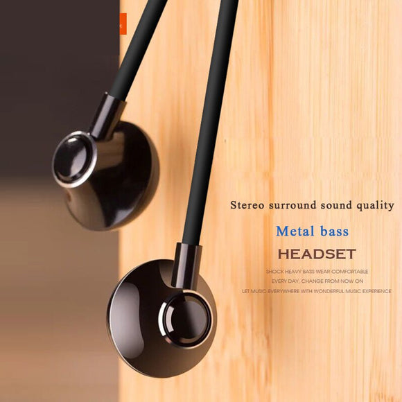 3.5mm Headphones Stereo Music Earphone Portable Bass earbuds Wired with mic for Xiaomi for smartphone universell Earphone