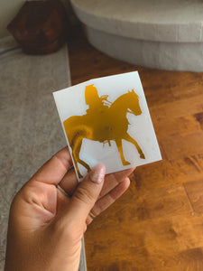 Western Holographic Decal