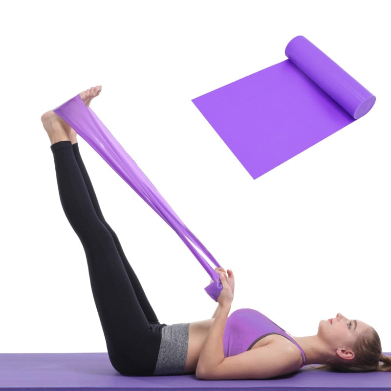 Yoga Belt Resistance Band - Gym Mist