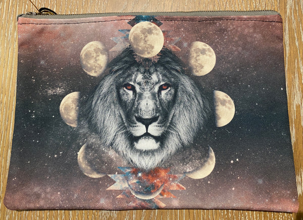 Cosmic Collage Large Pouch